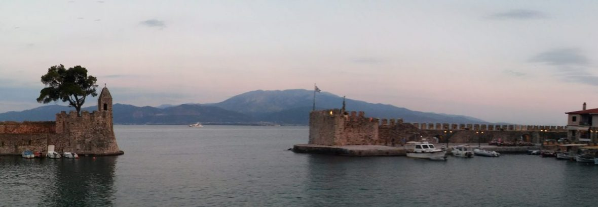 Nafpaktos in Summer